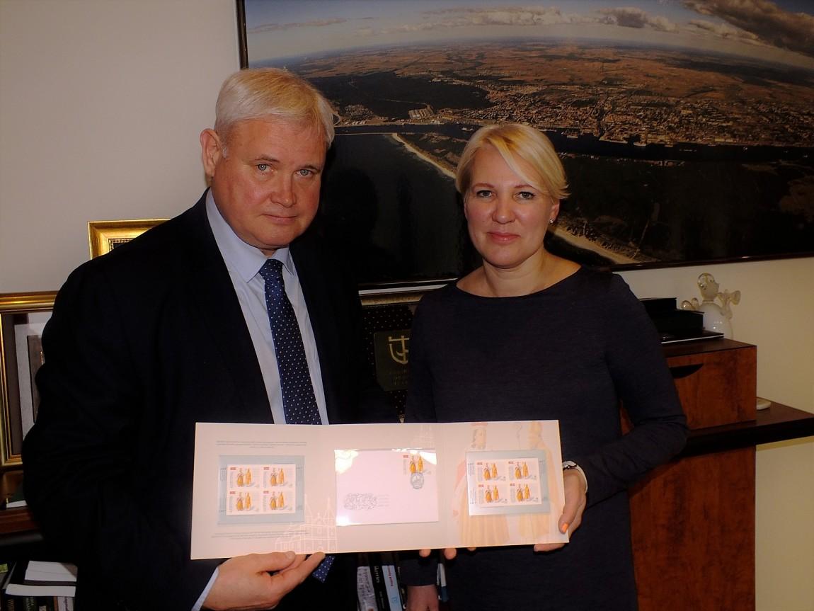 Sutarta: pašto skyrius Klaipėdos senamiestyje nebus parduotas