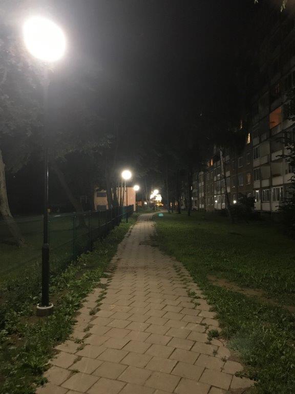 Šviestuvai įjungti prie dar vienuolikos Klaipėdos daugiabučių