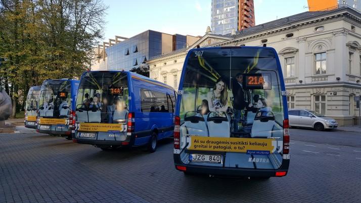 Klaipėdos gatvėse – nauji mažieji autobusai
