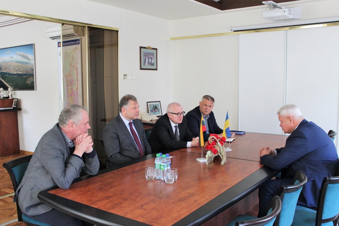 Studijomis Klaipėdoje domisi Ukrainos atstovai