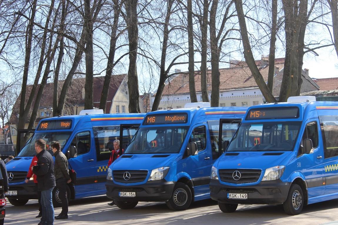 Klaipėdoje – naujos kokybės maršrutinių taksi paslauga