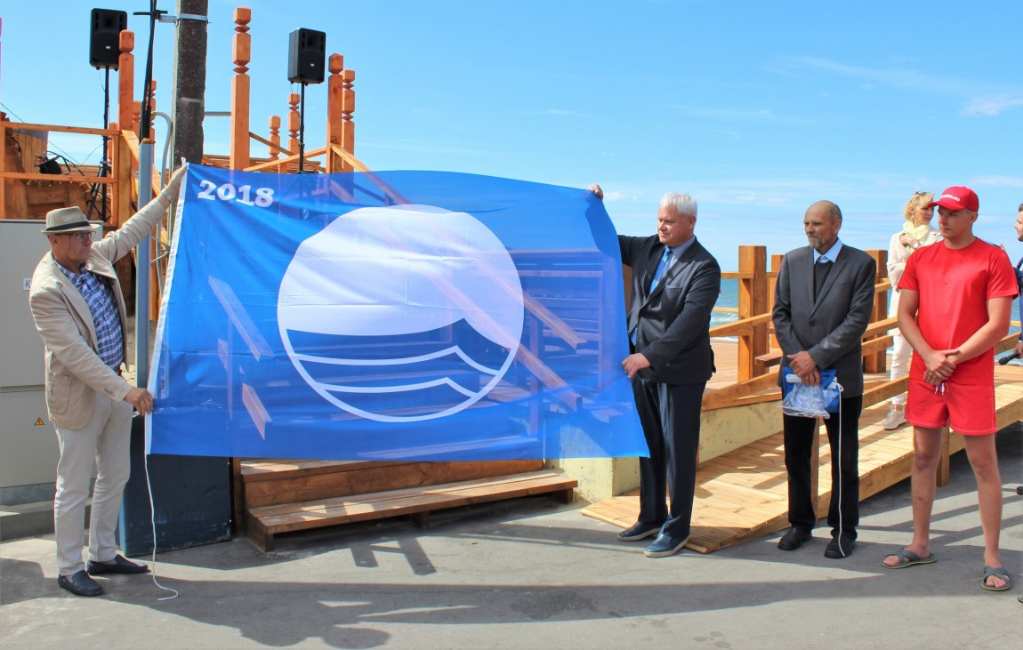 Klaipėdos paplūdimiuose dvi mėlynosios vėliavos