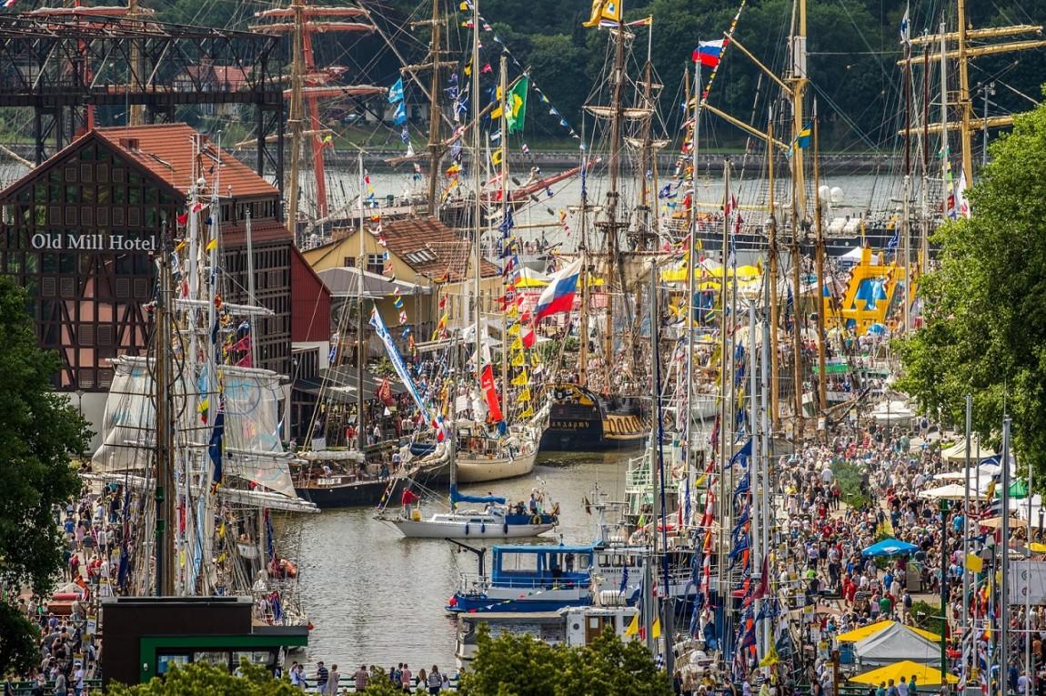 """2021-aisiais į Klaipėdą sugrįš """"The Tall Ships Races"""" burlaiviai"""
