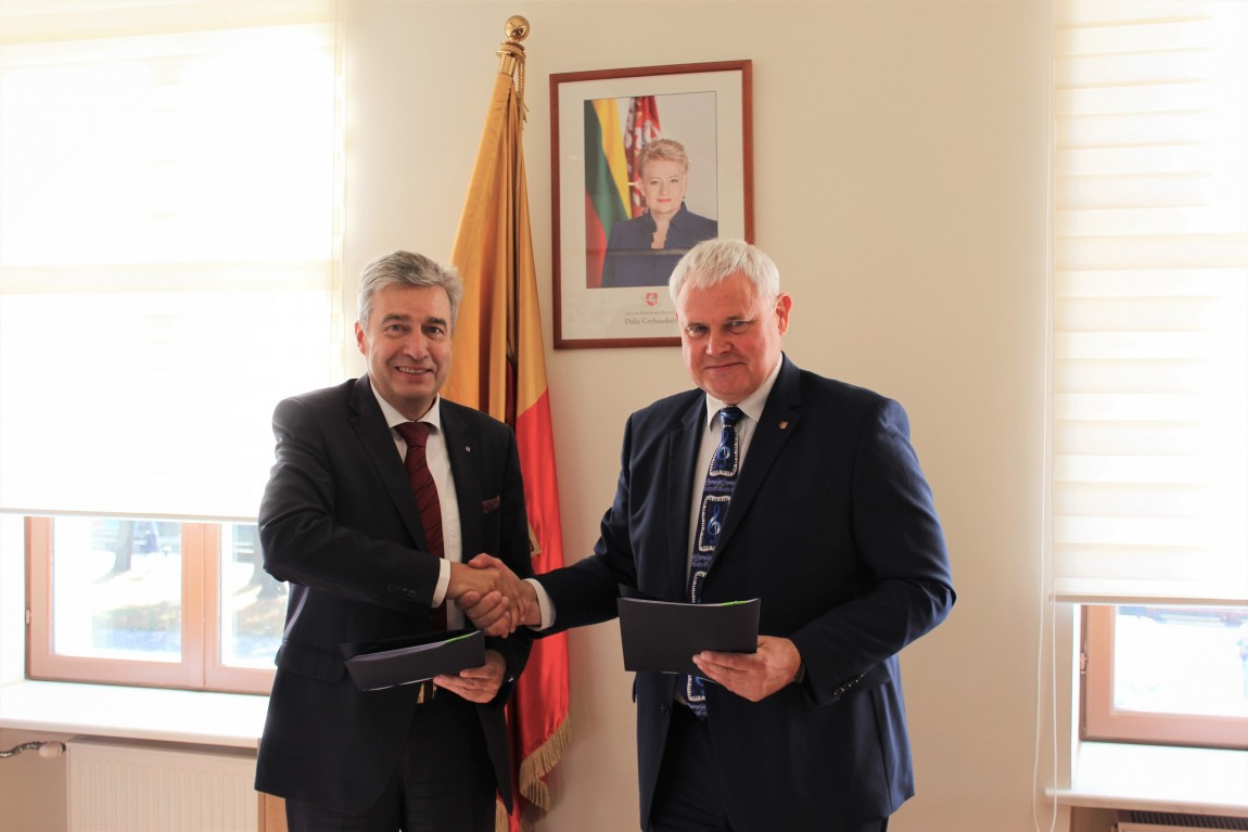 """Pasirašyta sutartis dėl """"Europiados"""" organizavimo"""