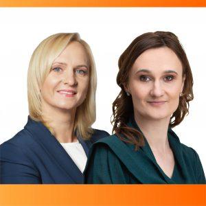 Antrajame Liberalų sąjūdžio pirmininko rinkimų ture: V. Čmilytė-Nielsen ir E. Rudelienė