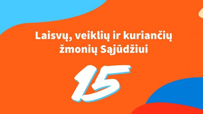 Klaipėdos liberalams 15!